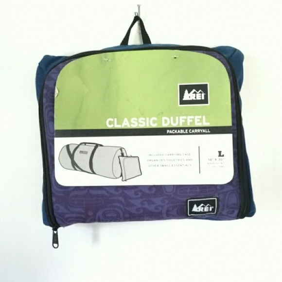 fe682fd46a Awesome deal  NEW 75 L REI DUFFEL BAG!